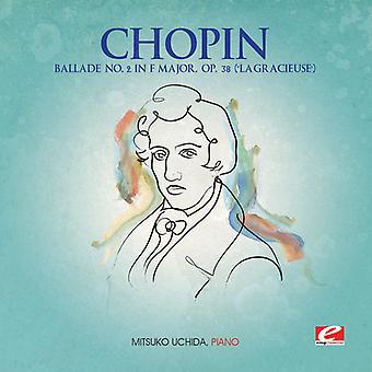 F. Chopin - Chopin: Ballade no. 2 em Fá maior, Op. 38 ('La gentil') [CD] EUA importar