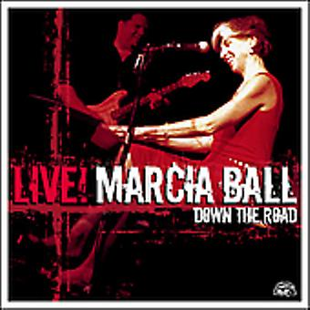 Marcia Ball - Live! Down the Road [CD] USA import
