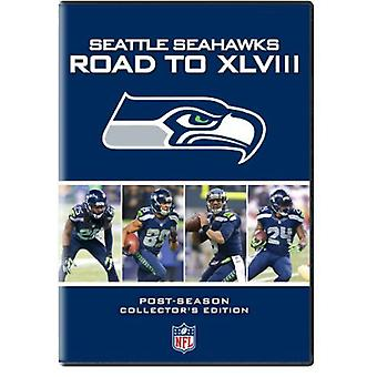 Seattle Seahawks: Vejen til Xlviii [DVD] USA importerer