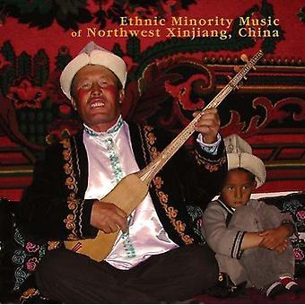 Etniske mindretal musik af nordvestlige Xinjiang Kina - etniske mindretal musik af nordvestlige Xinjiang Kina [CD] USA import