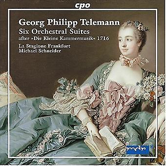 G.P. Telemann - Telemann: Six Orchestral Suites After Die Kleine Kammermusik 1716 [CD] USA import