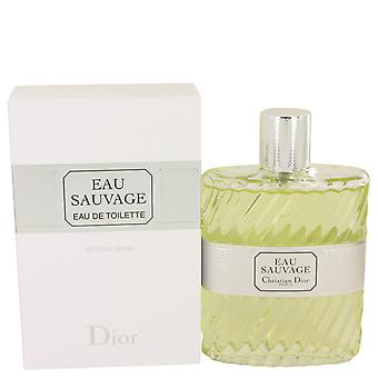 Christian Dior Men Eau Sauvage Eau De Toilette Spray By Christian Dior