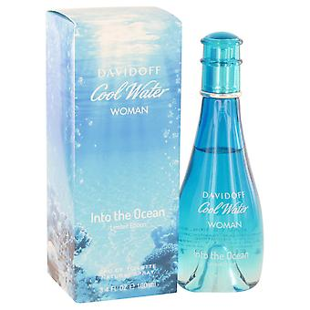 Davidoff Women Cool Water Into The Ocean Eau De Toilette Spray By Davidoff