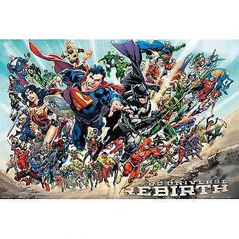 DC Universe Poster Wiedergeburt 287