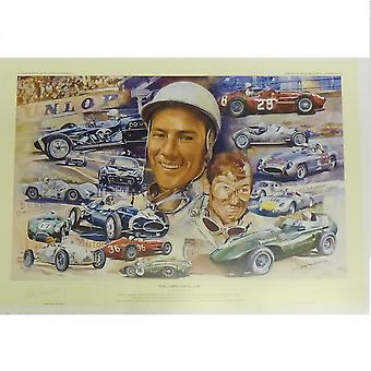 Craig Warwick Still Going Strong At 80 Stirling Moss Print