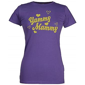 Spoilt Rotten Yummy Mummy Women's T-Shirt Purple (12-14)