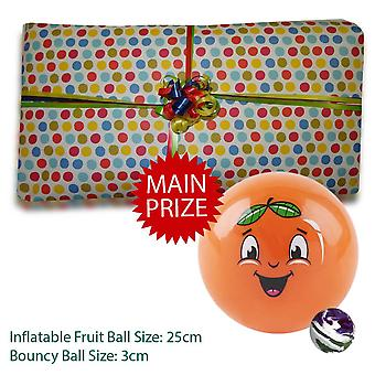 Pass the Parcel Ready Made Party Game - Bouncing Balls