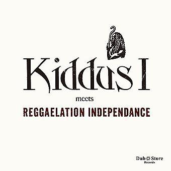 Kiddus jeg & Reggaelation Independance - Kiddus jeg opfylder Reggaelation Independence [CD] USA importerer