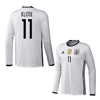 2016-2017 Germany Long Sleeve Home Shirt (Klose 11)