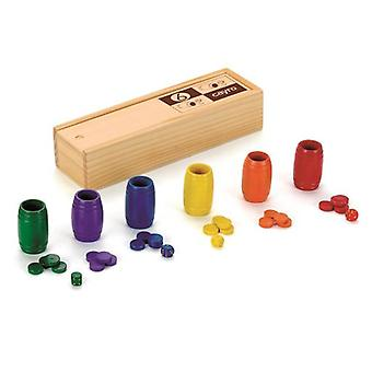 Cayro Ludo Accessories 6 players (Spielzeuge , Brettspiele , Traditionell)