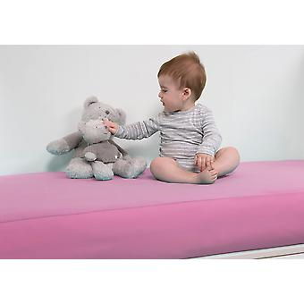 B-sensible BSensible Baby Waterproof breathable fitted crib sheet 70x140 Pink
