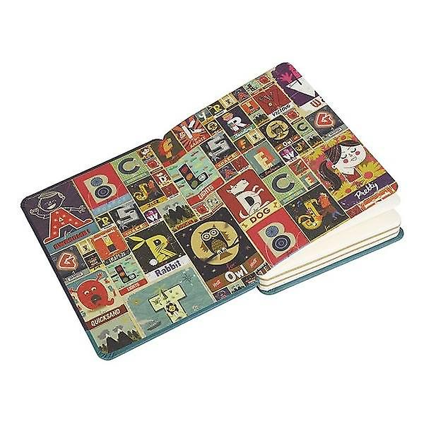 Wild & Wolf A is voor Awesome Notebook - Paul Thurlby