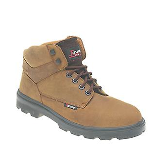 Himalayan Brown Light Nubuck Leather Safety Boot with Dual Density Sole & Midsole
