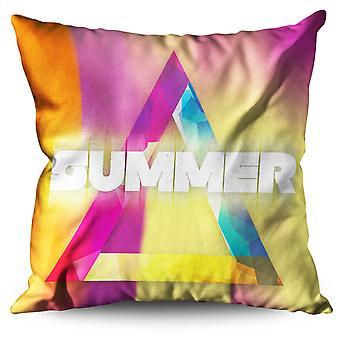 Triangle Linen Cushion Triangle | Wellcoda