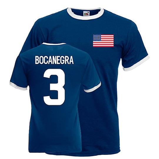 Carlos Bocanegra Usa Ringer Tee (marinen)