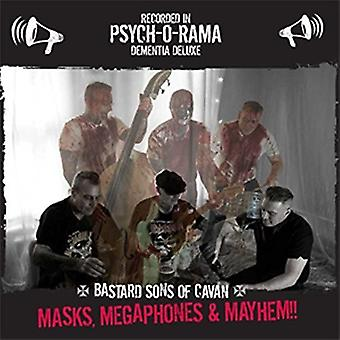 Bastard Sons of Cavan - Masks Megaphones & Mayhem [CD] USA import