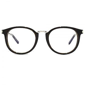 Saint Laurent SL 130 Combi Glasses In Havana Silver