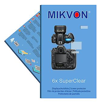 Nikon D4s screen protector- Mikvon films SuperClear