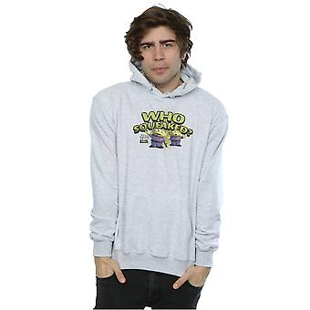 Disney Men's Toy Story Who Squaeaked? Hoodie