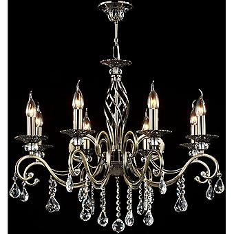 Maytoni Lighting Grace Royal Classic Collection Chandelier, Bronze
