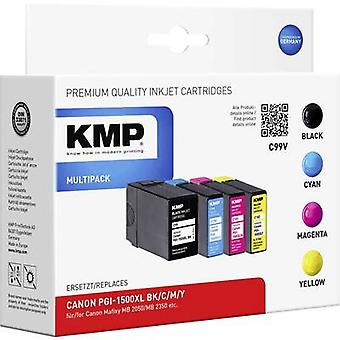 KMP Ink replaced Canon PGI-1500XL Compatible Set B