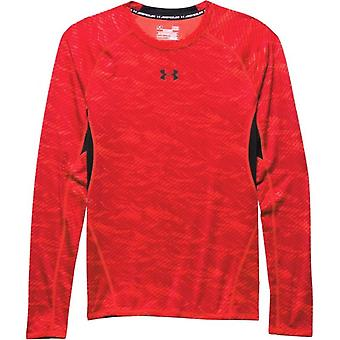 Under Armour Heatgear Armour Printed Long Sleeve Compression M 1258896984 universal  men t-shirt