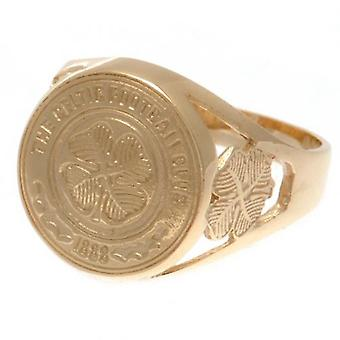 Celtic 9ct Gold Crest Ring Medium