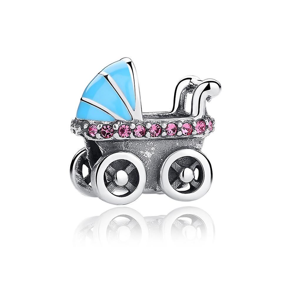 Charms 925 Silver pram Bead