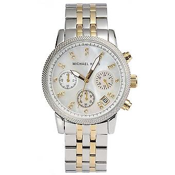 Michael Kors Damen Ritz Chronograph Watch MK5057