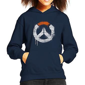 Overwatch Graffiti Logo Kid's Hooded Sweatshirt