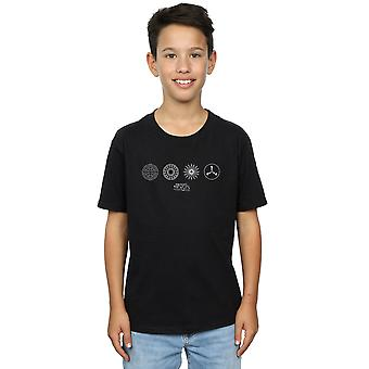 Fantastic Beasts Boys Circular Icons T-Shirt