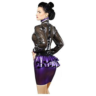 Westward Bound Dame Hustle-Bustle Latex Rubber Skirt.