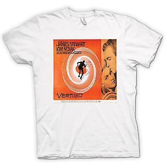 Womens T-shirt - Vertigo Hitchcock - B Movie - Poster