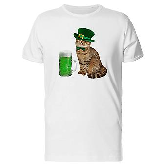 An Irish Green Mug Cat Tee Men's -Image by Shutterstock