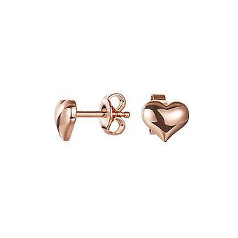 ESPRIT women's silver Rosé earrings endless love ESER92436B000