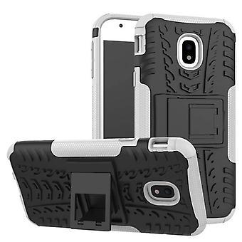 Hybrid case 2 stuk SWL buiten wit zakje case voor de Samsung Galaxy J5 J530F 2017