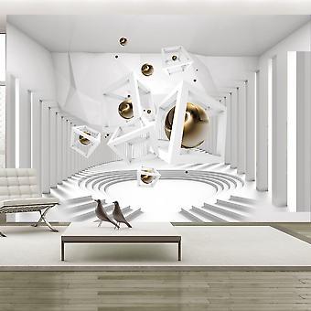 Wallpaper - Geometrical Corridor