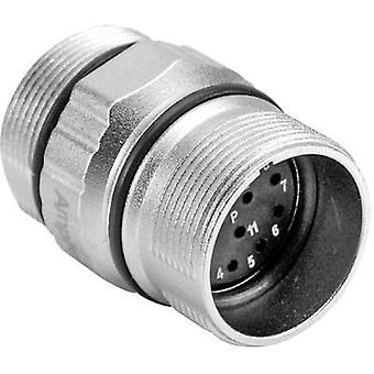 Amphenol MA1JAP1200 Bullet connector Plug, straight Series (connectors): MotionGrade™ Total number of pins: 12 1 pc(s)