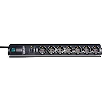 Brennenstuhl 1153300477 Smart power strips (master/slave strips) 7x Black PG connector