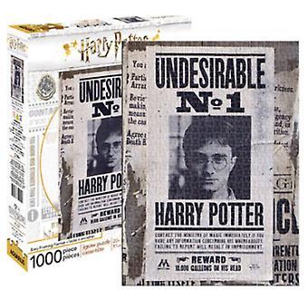 Harry Potter niepożądanych No.1 1000 elementów Puzzle 690 X 510 Mm