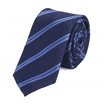 Tie slips binde bånd 6cm blå stripete Fabio Farini