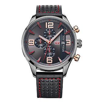 Relojes analógicos inteligentes muchachos rojo negro oro rosa reloj presente Mini foco