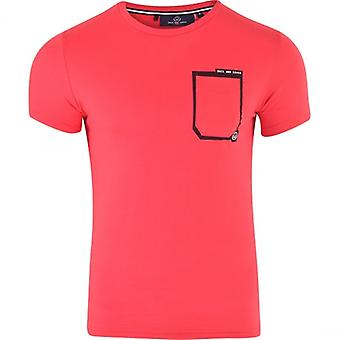 Duck and Cover Duck And Cover Original Men‰Ûªs Basic Short Sleeve Pocket Cotton Crew Neck T Shirt