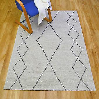 Skald Rugs 49007 4242 In Grey And Silver