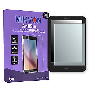 Tolino Shine 2 HD Screen Protector - Mikvon AntiSun (Retail Package with accessories)