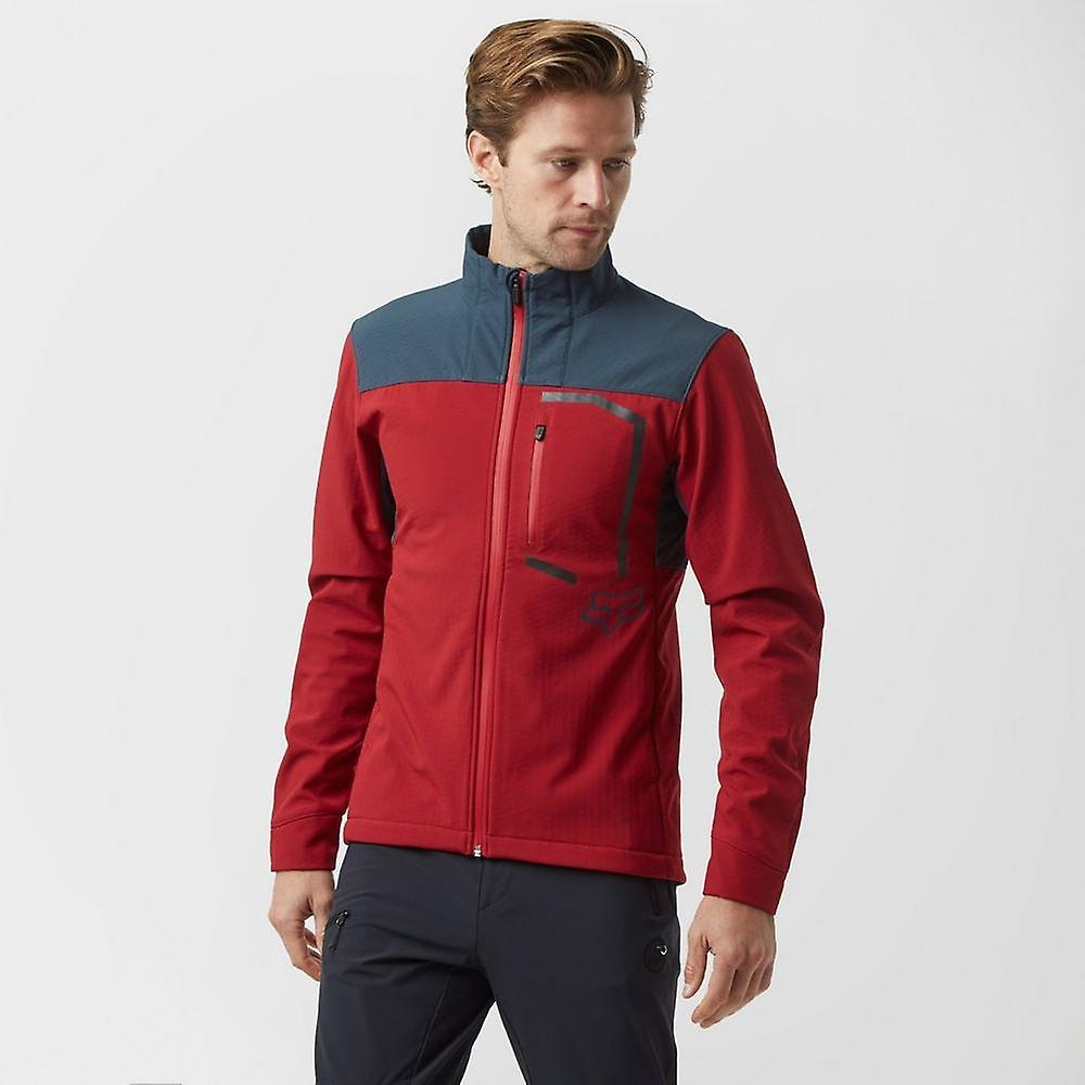 New Fox Men& 039;s Attack Fire Jacket rouge