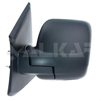 Espejo lateral izquierdo del pasajero (cubierta negra manual) para Opel VIVARO Combi 2014-2018