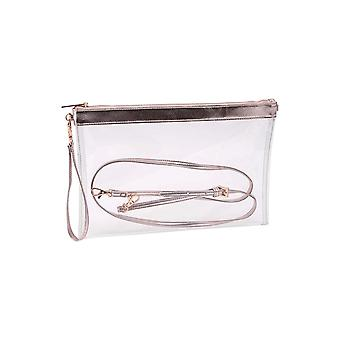 Champagne Moments Metallic Transparent Bag