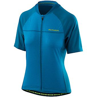 Altura Vivid Blue-Tile Blue 2018 Airstream 2 Womens Short Sleeved Cycling Jersey