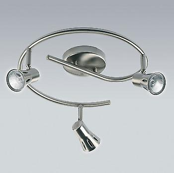 Endon 815-SC 3 Light Spotlight Fitting In Satin Chrome
